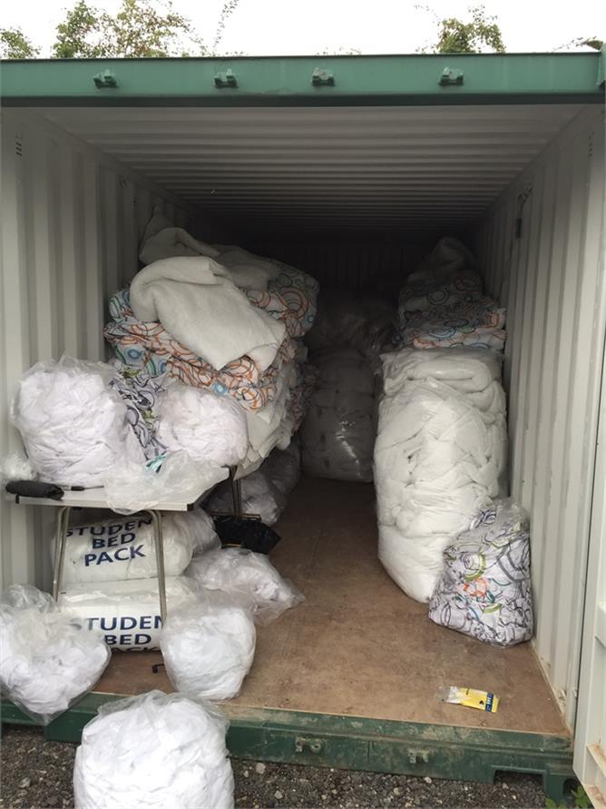 BEDDING DONATION 1