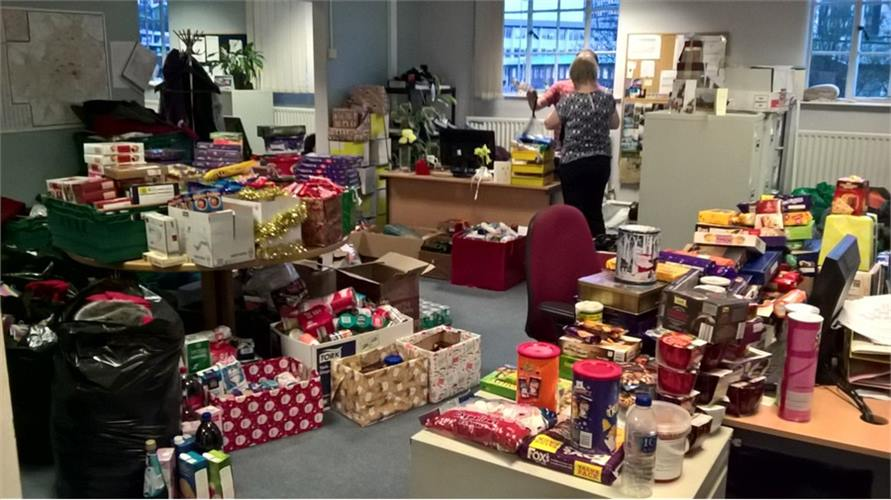 Piles of Donations in Office 2016