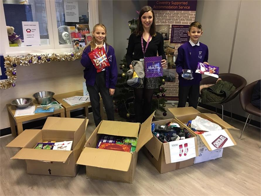 St John Vienney Xmas Donations 2019