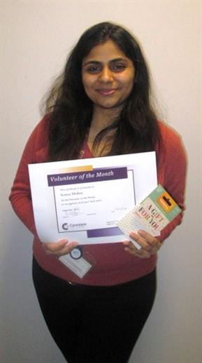 Somya Vol of the Month